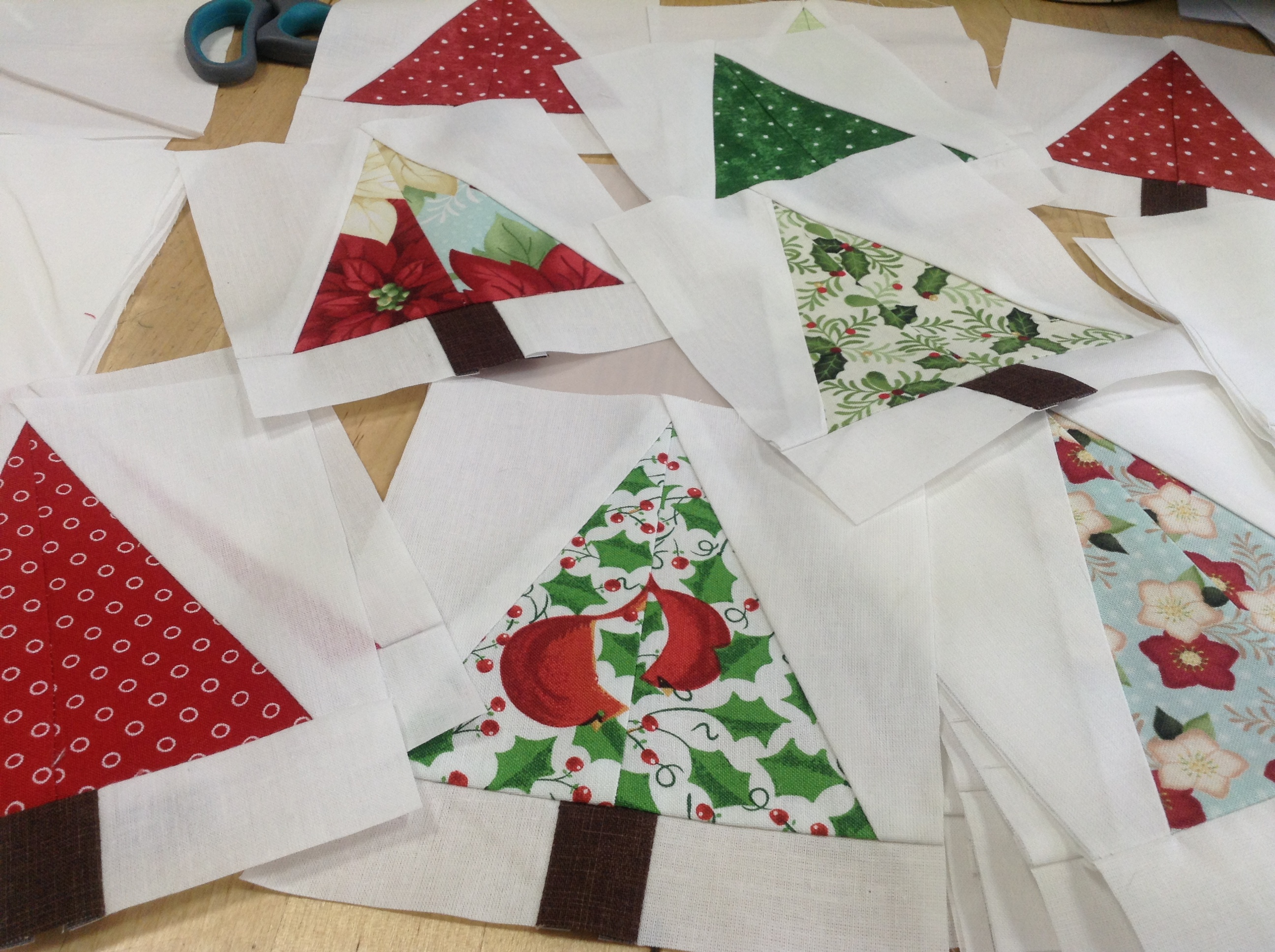 Cojines De Patchwork De Navidad.Navidad Anabelula