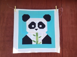 Pandamonium Miniquilt / anabelula.wordpress.com