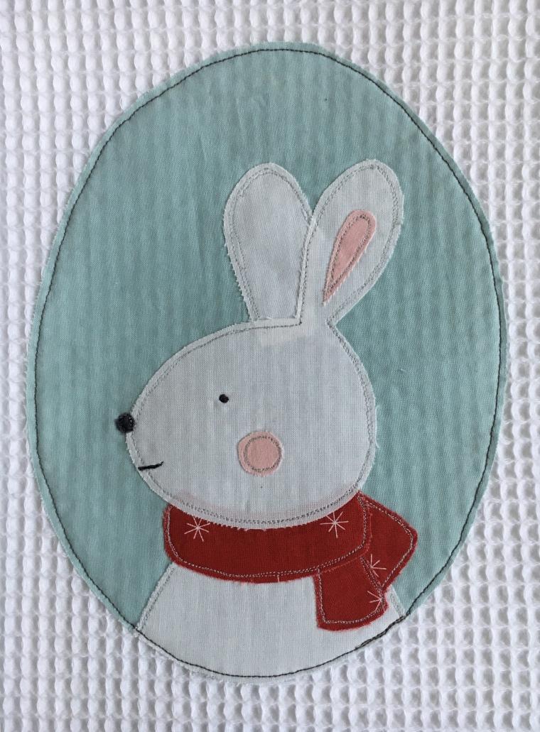 waffle baby towel / anabelula.com